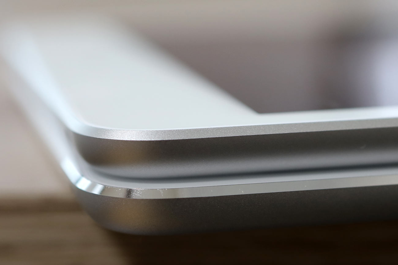 iPad miniの筐体デザインの違い