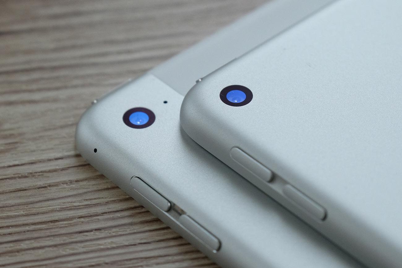 iPad mini カメラの違い