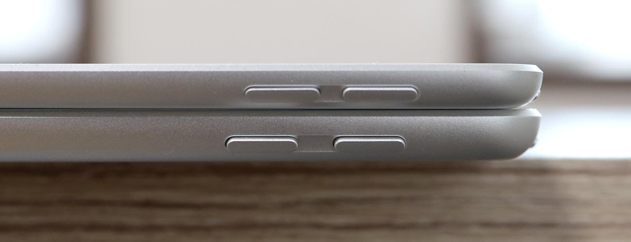 iPad Air 3とiPad(第7世代)ダイヤモンドカットの加工