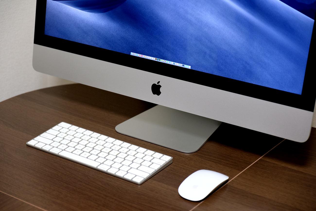 iMac 27インチのスタンド