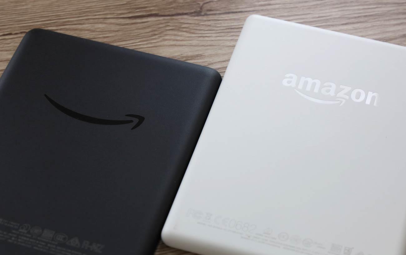 Kindle(2019)と(2017)ロゴデザインの違いを比較