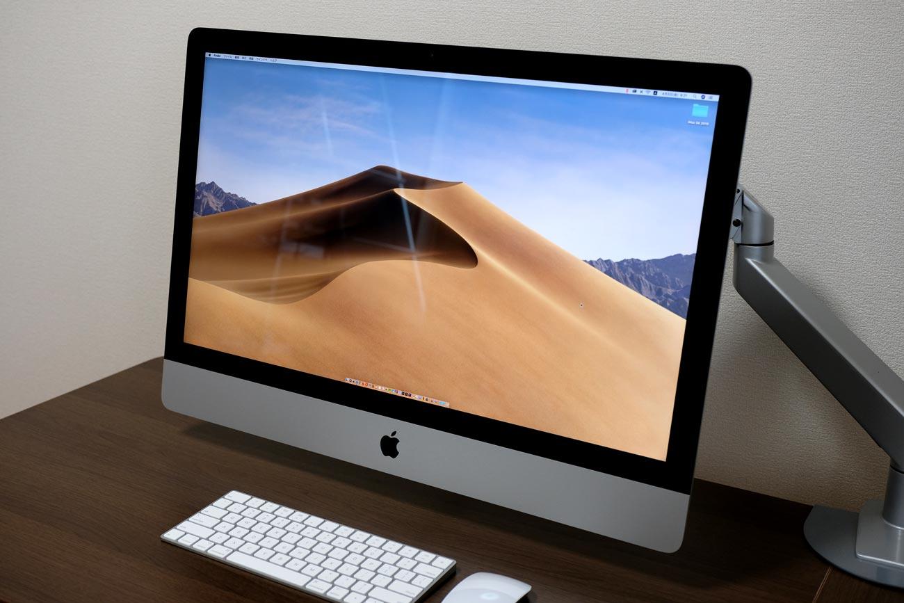iMac 27インチ(2019)VESAマウントアダプター搭載モデル