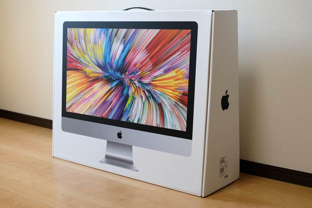 iMac 27インチ VESAマウントモデルのパッケージ