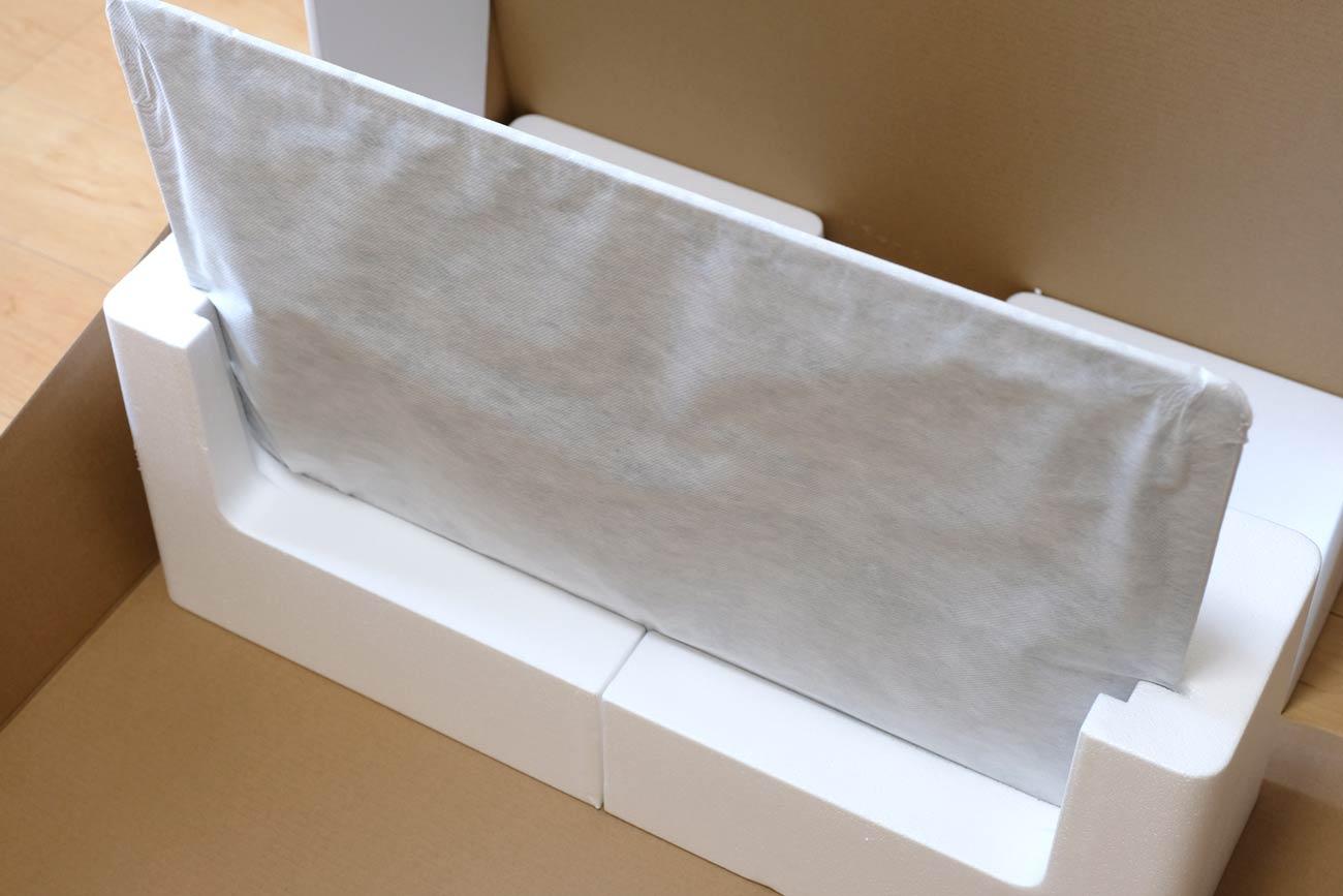 iMac 27インチ VESAマウントモデル 梱包状態