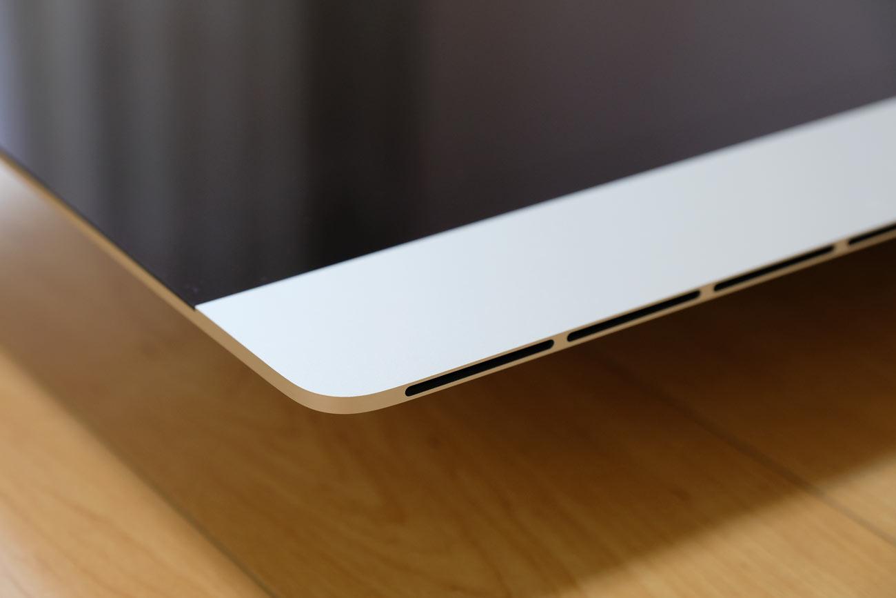 iMacのエッジデザインスタイル