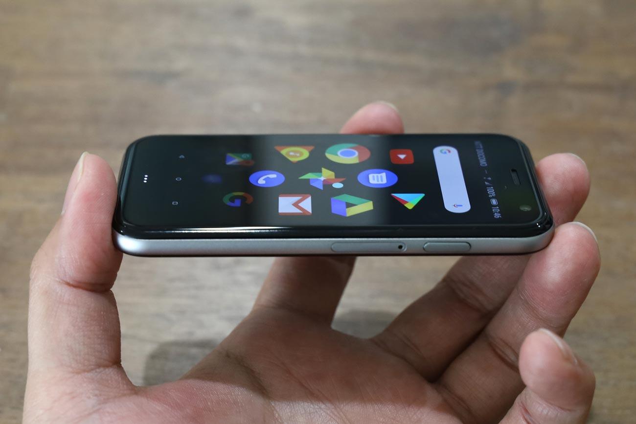 iPhone風のPalm Phoneのスタイル