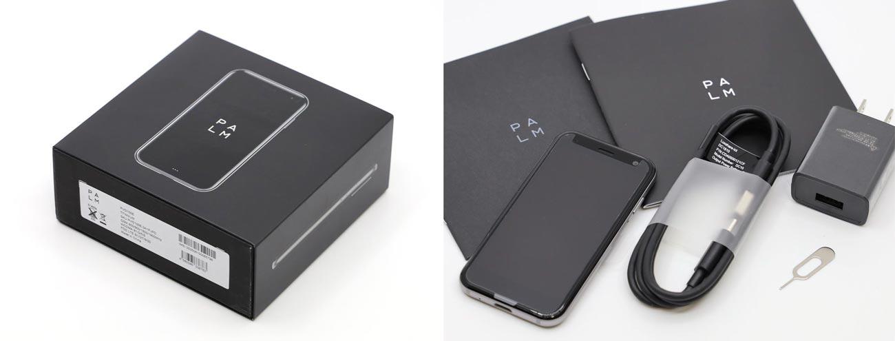 Palm Phone パッケージと付属品
