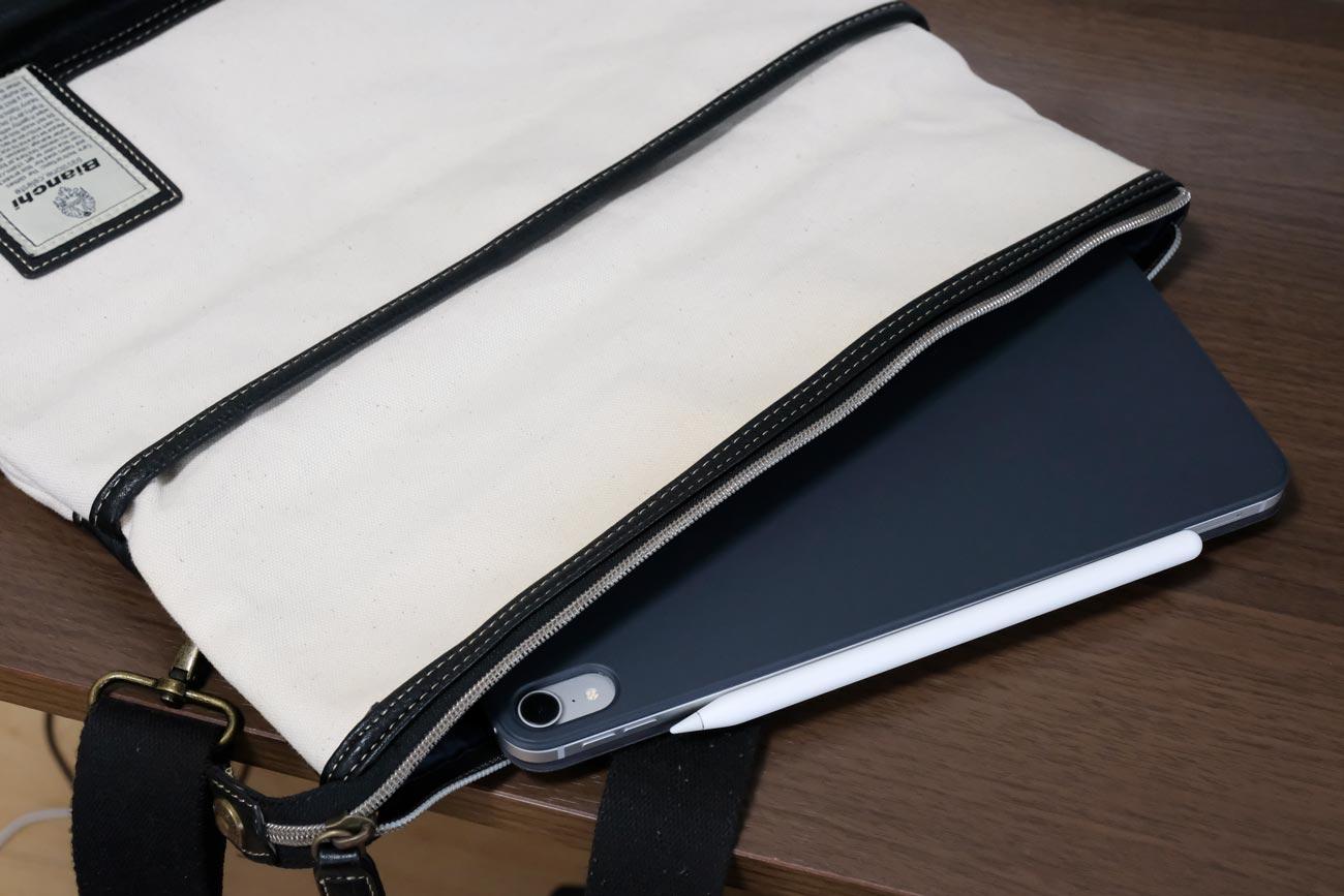 iPad Pro 11インチ カバンの中に入れる