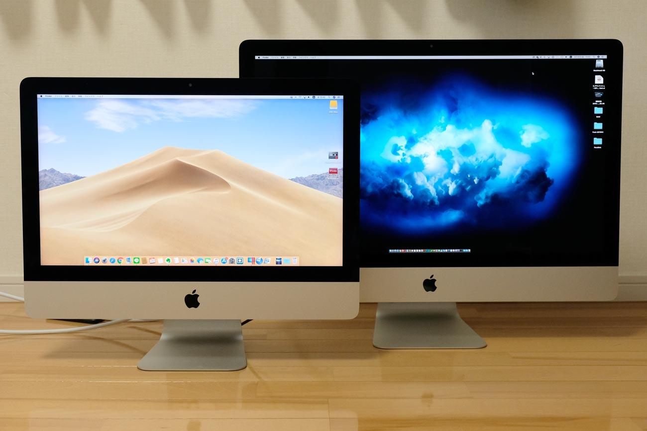 iMac 21.5インチとiMac 27インチ
