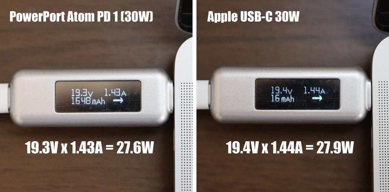 PowerPort Atom PD 1 出力電力
