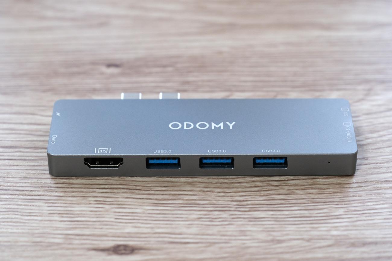 ODOMY USB-Cハブ 8in1 ドッキングステーション