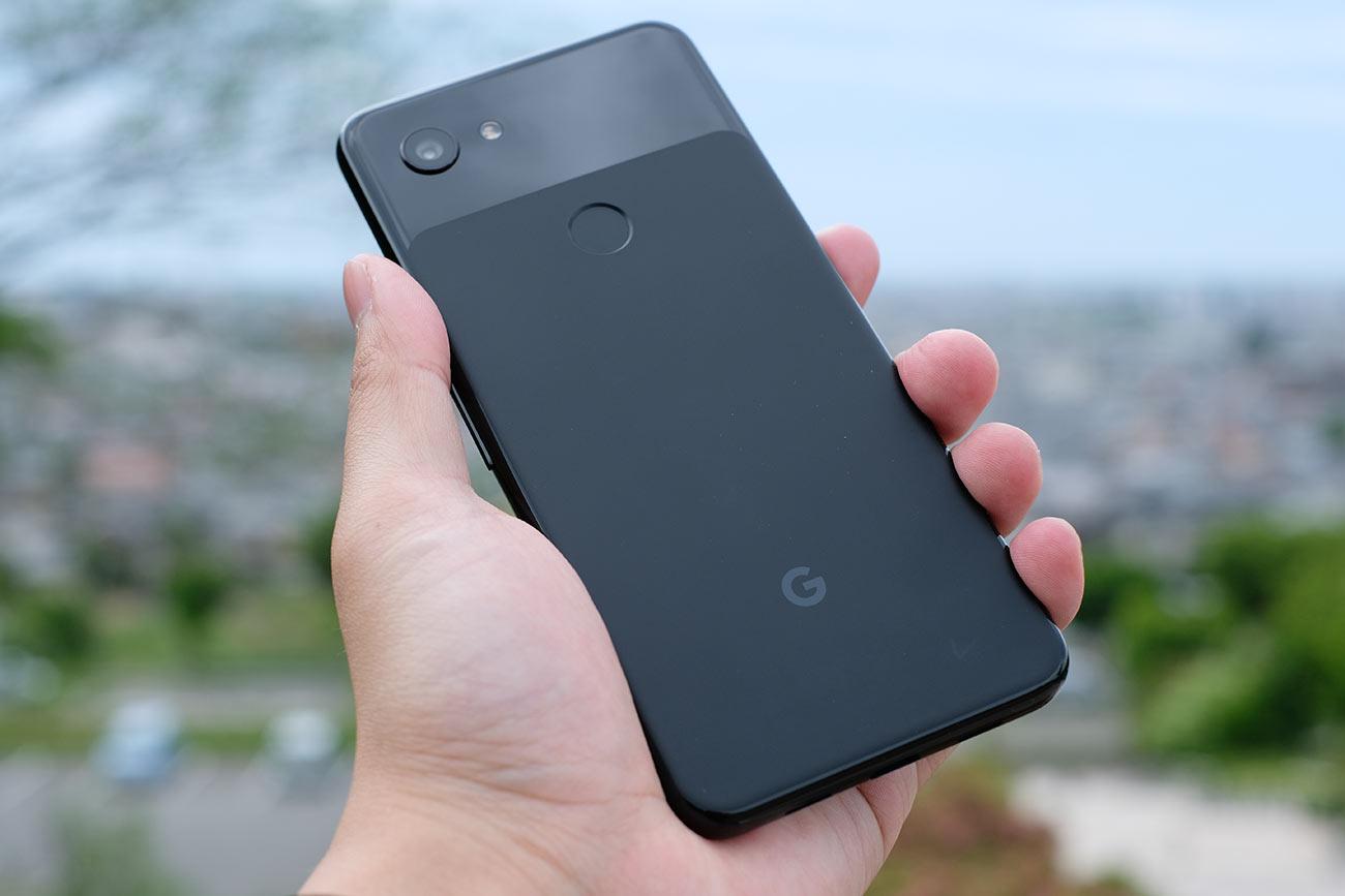 Google Pixel 3aの背面デザイン