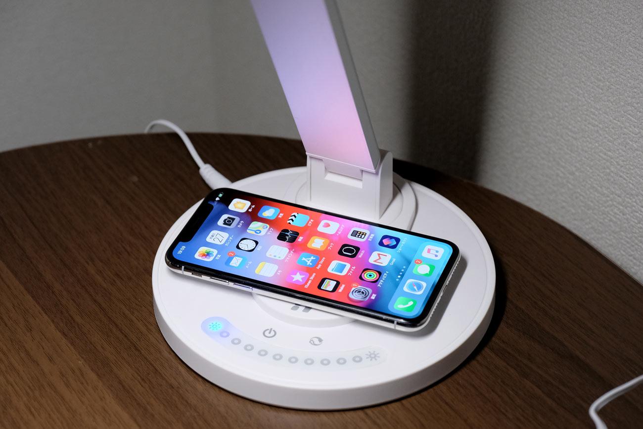 TaoTronics LED ワイヤレス充電
