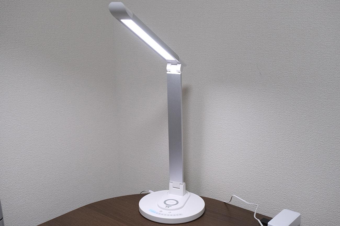 TaoTronics LEDデスクライトの角度(標準)