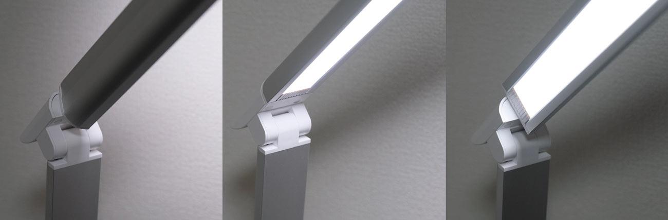 TaoTronics LED ライトのヘッド部分