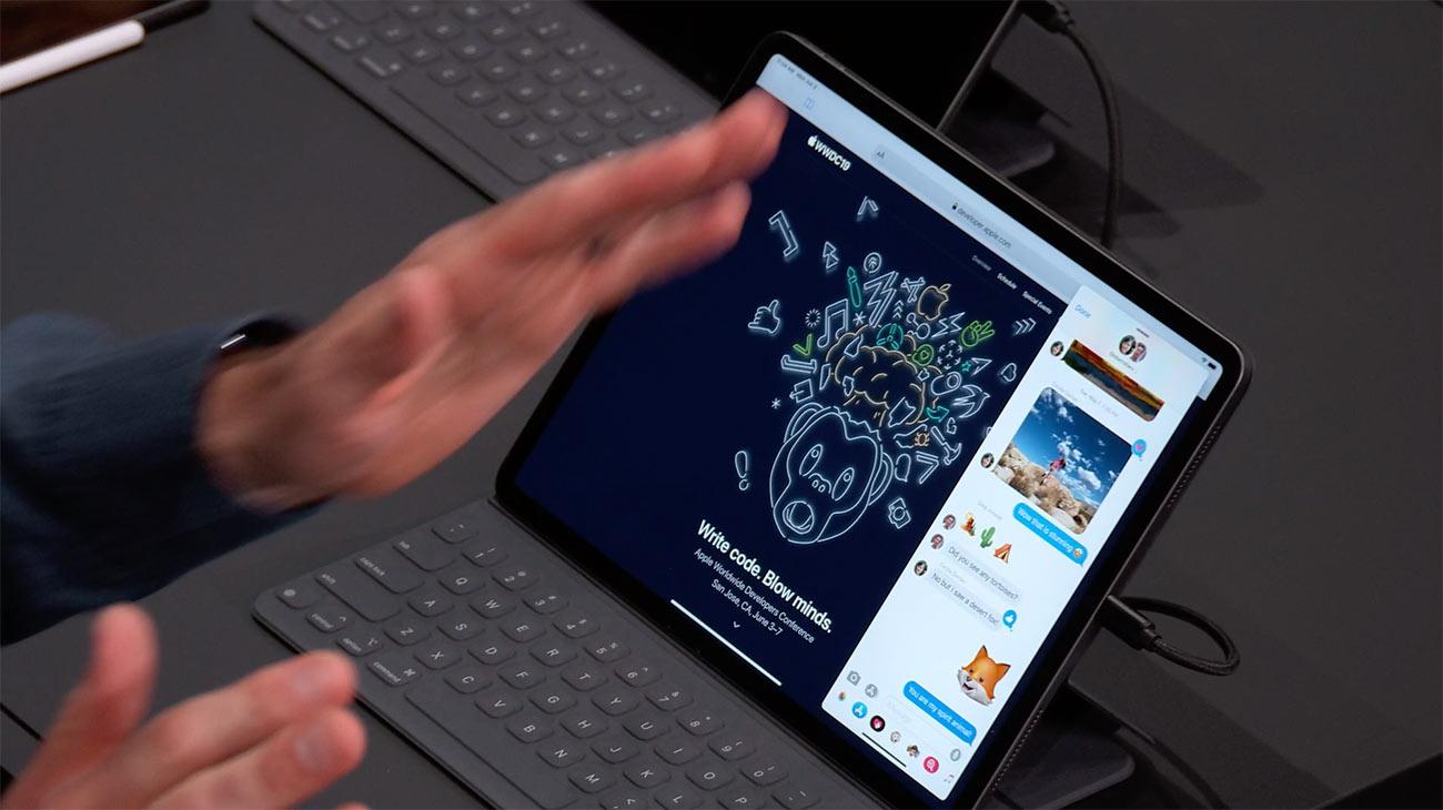iPadOSのSlide Over