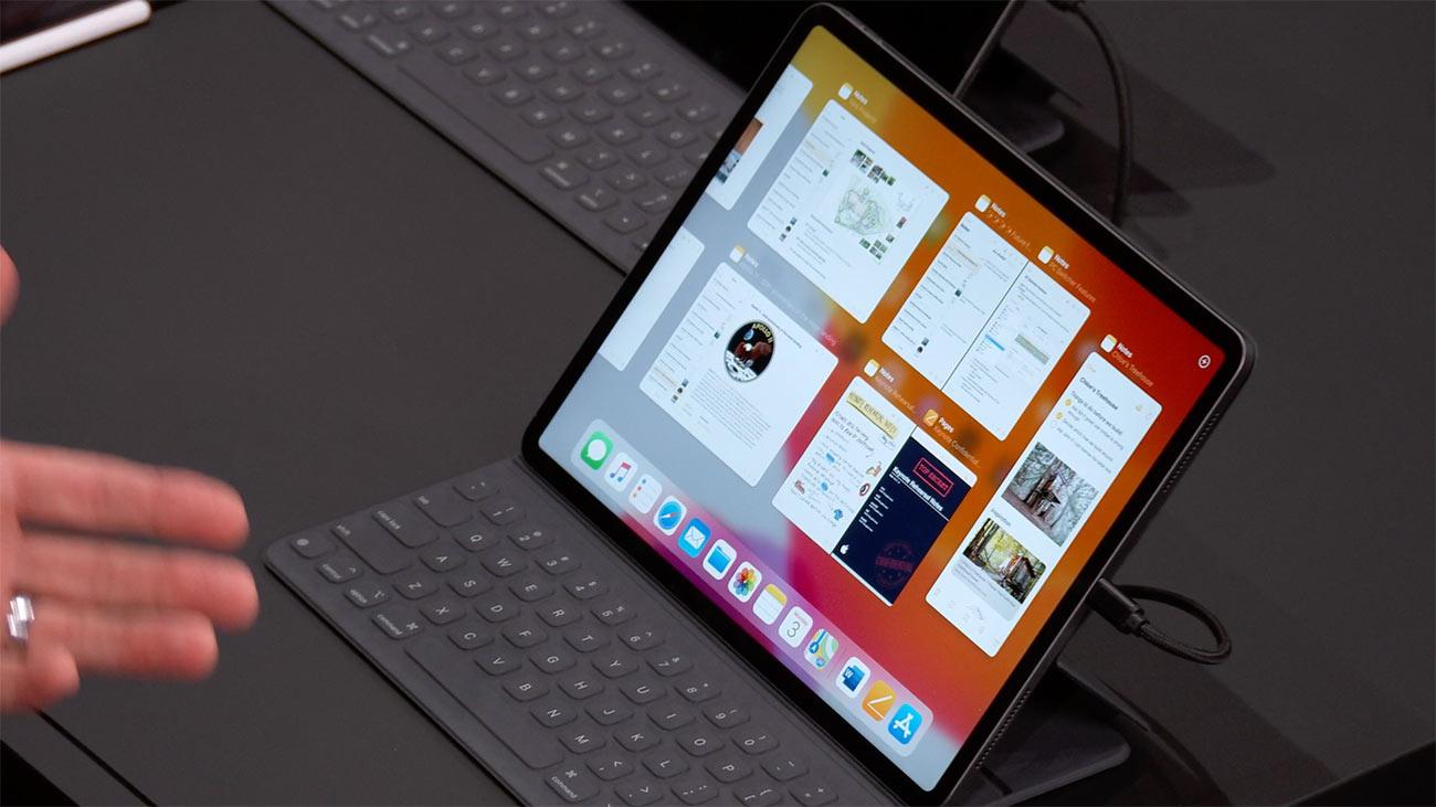 iPadOSのApp Exposé