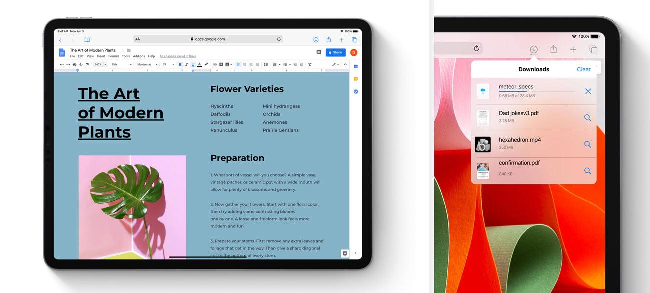 iPadOS デスクトップ版のサイトに対応