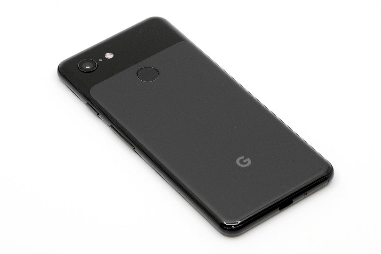 Google Pixel 3の背面デザイン