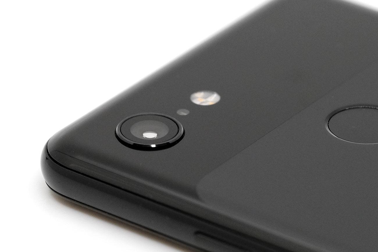 Google Pixel 3 リアカメラのデザイン