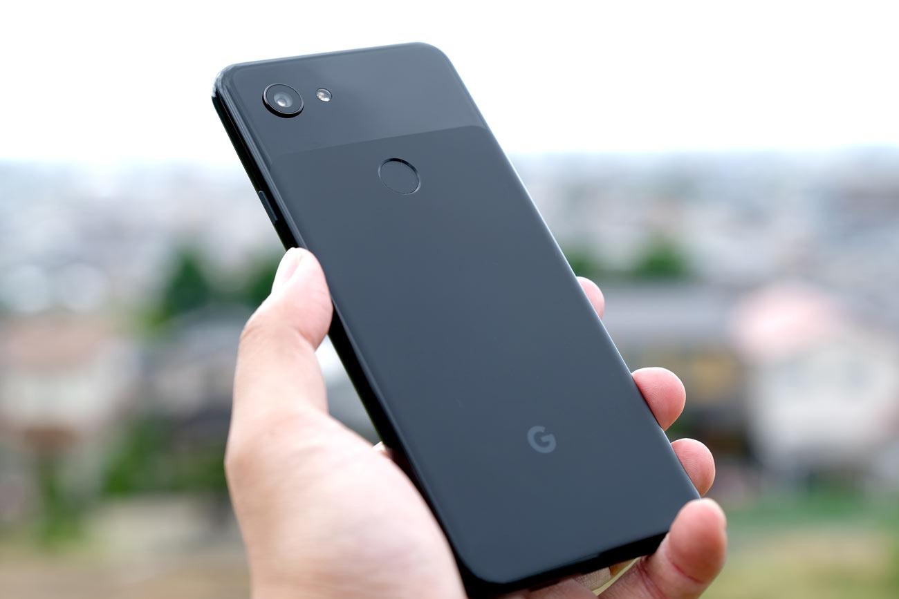 Google Pixel 3a 背面パネル
