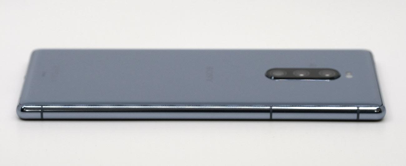 Xperia1 左サイドのデザイン