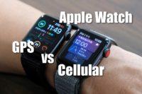 Apple Watch セルラーモデル vs GPSモデル