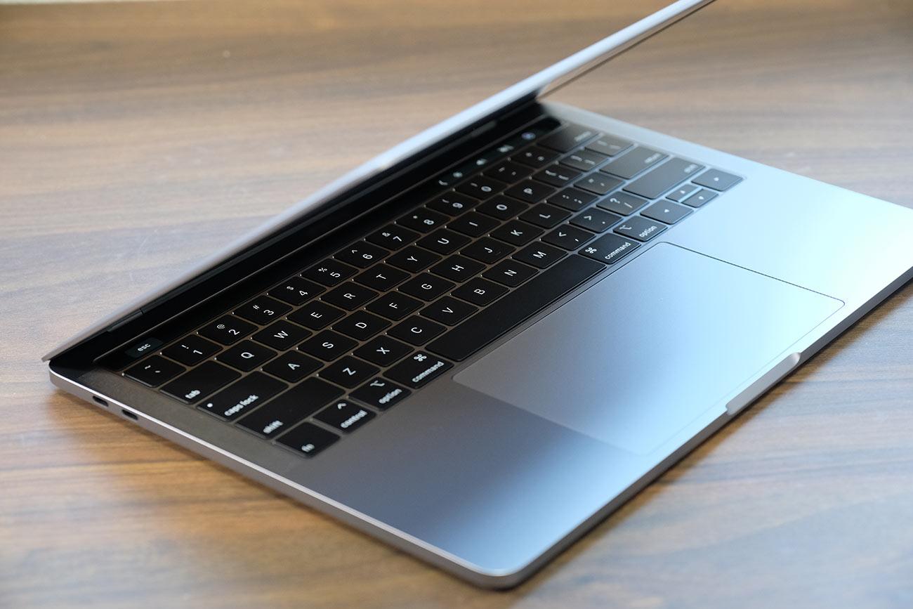 MacBook Pro 13インチ(2019)デザイン