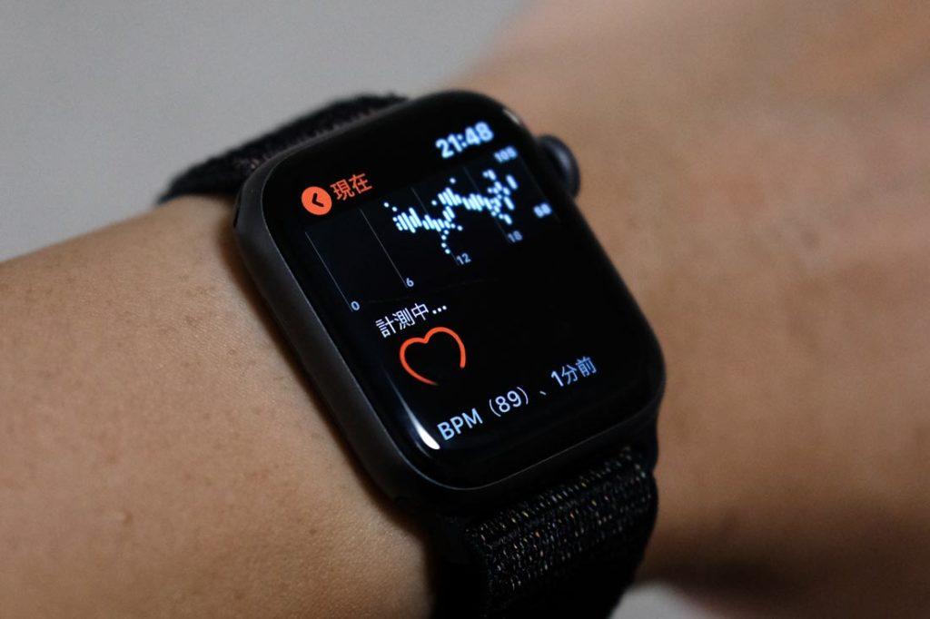 Apple Watch 心拍数