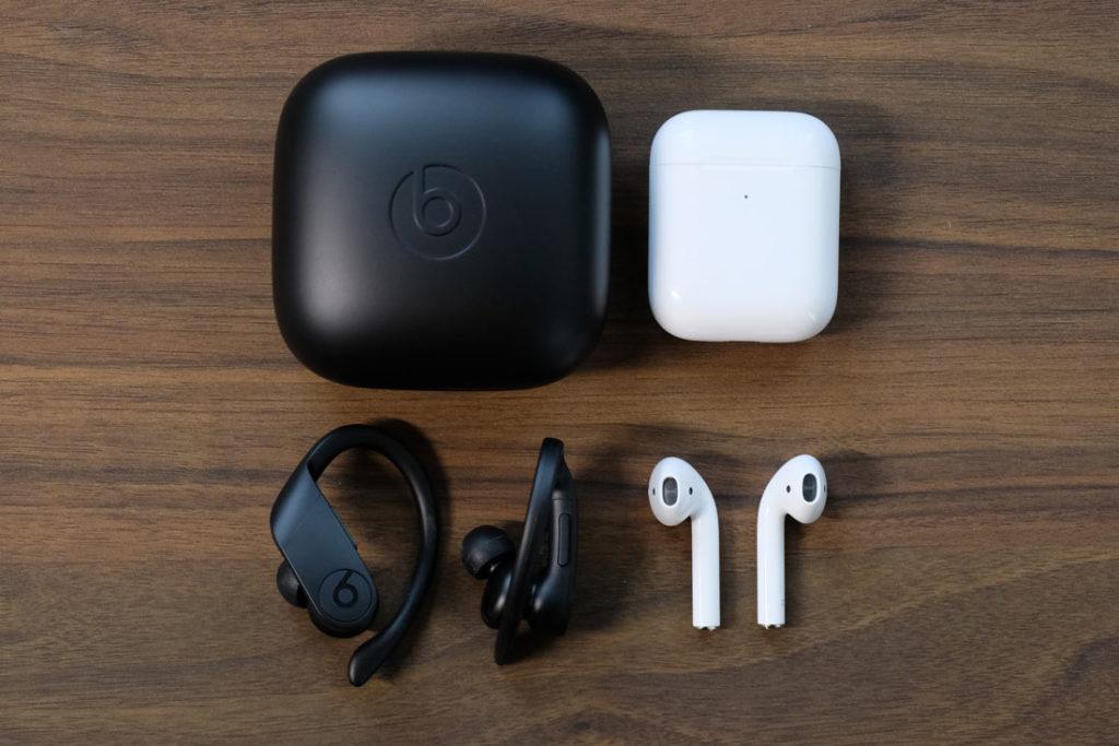 Beats Powerbeats ProとApple AirPodsの比較
