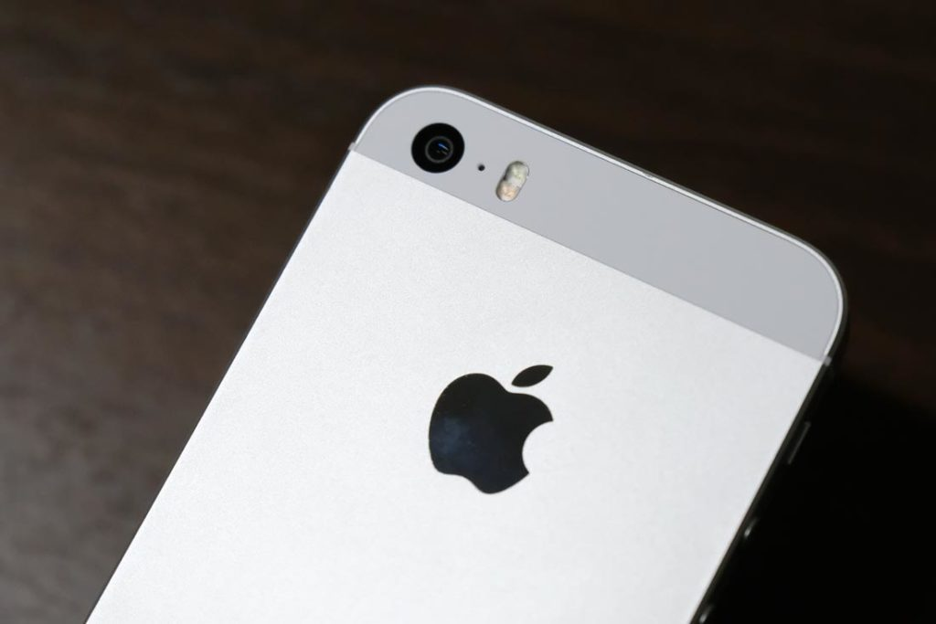 iPhone SE リアカメラ