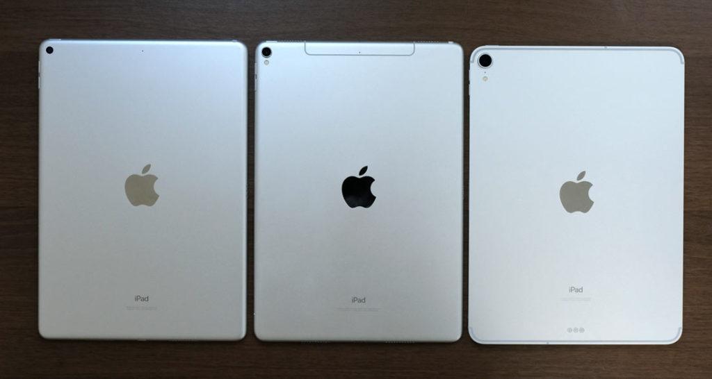 iPad AirとiPad Proの筐体デザインの違い