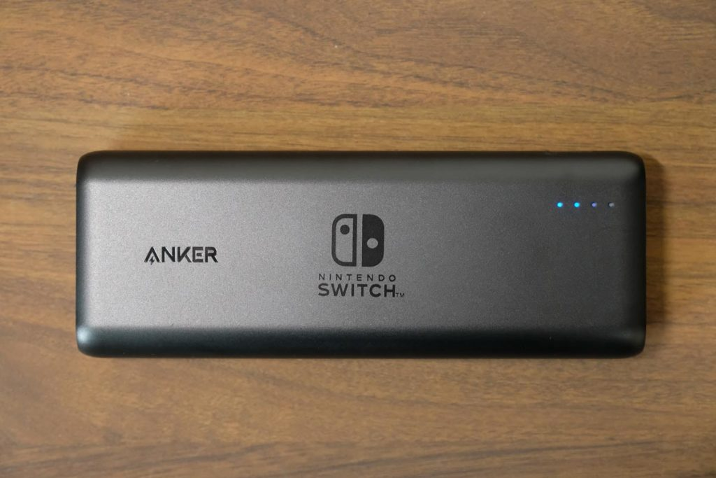 Anker PowerCore 20100 Nintendo Switch Edition 外観スタイル
