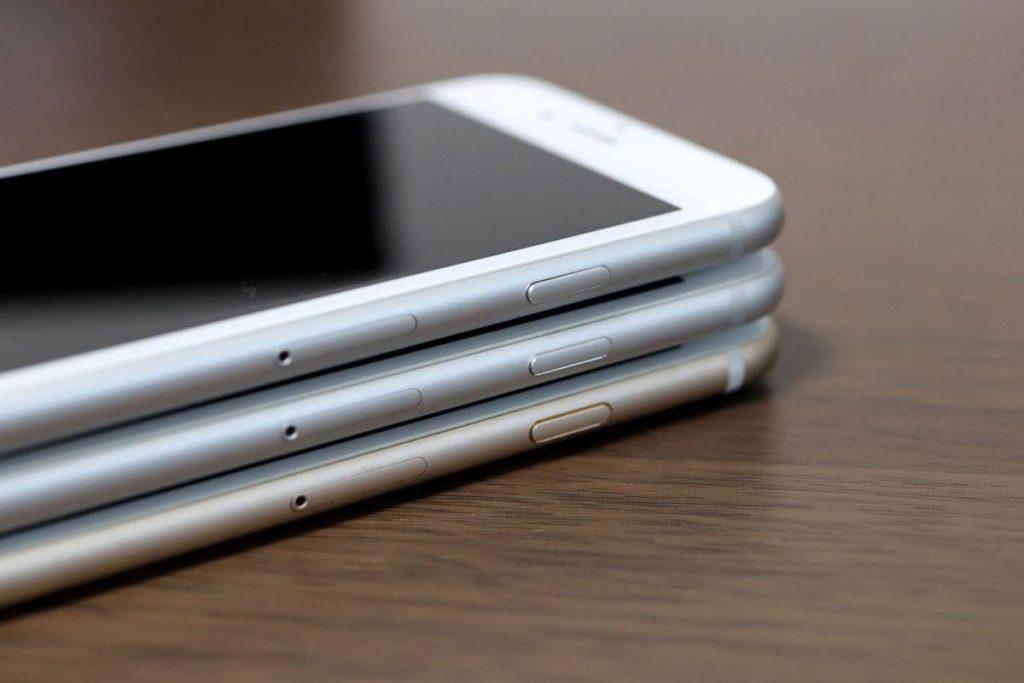 iPhone 8 7 サイドボタン