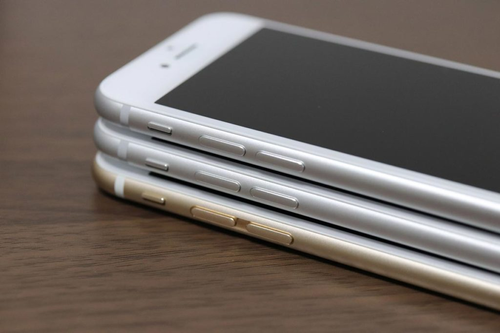 iPhone 8 7の音量ボタン