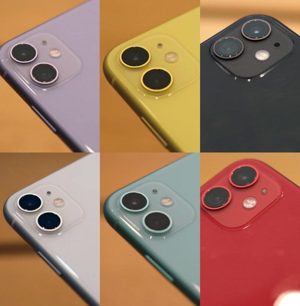 iPhone 11の本体カラー
