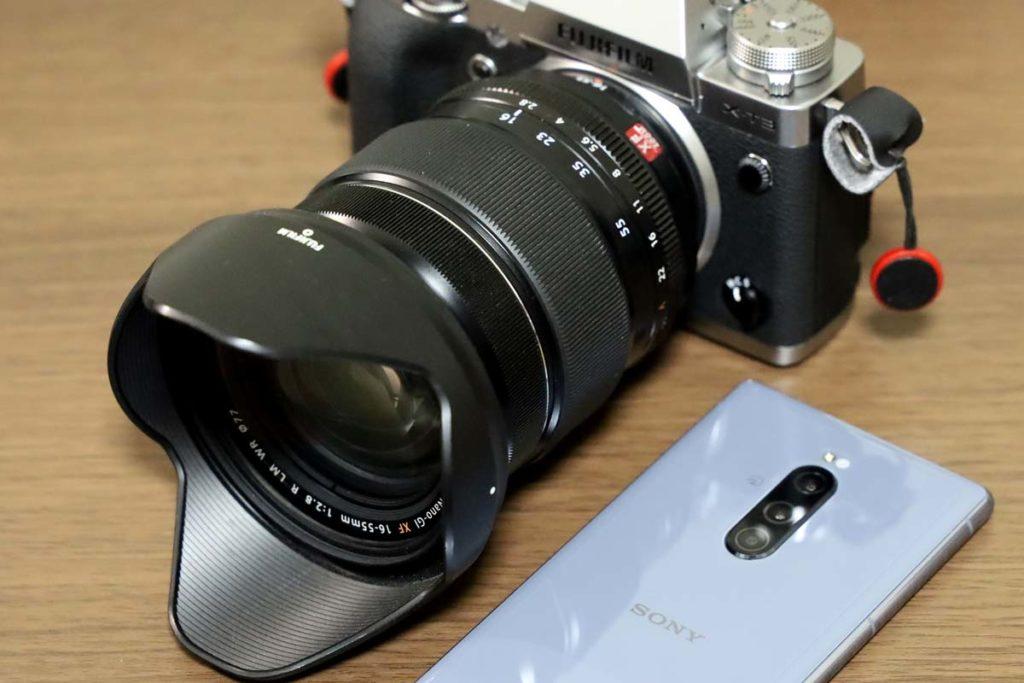 ミラーレスカメラとXperia 1