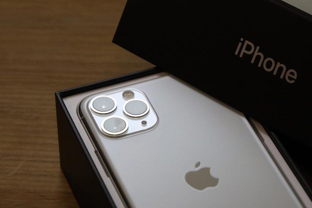 iPhone 11 Pro 開封