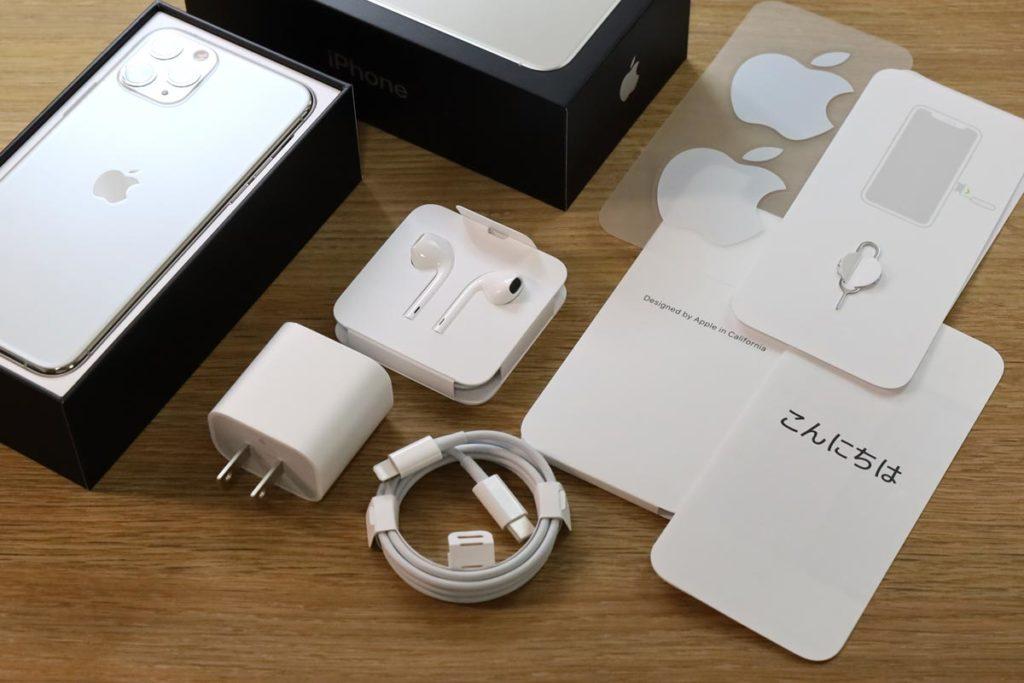 iPhone 11 Pro 付属品