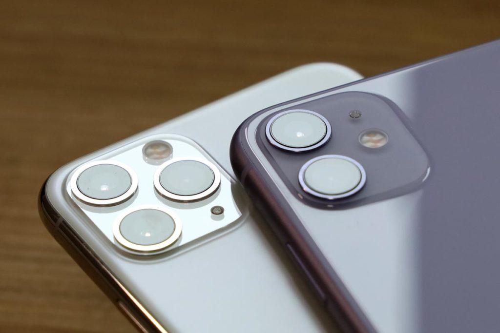 iPhone 11 ProとiPhone 11の筐体素材の違い