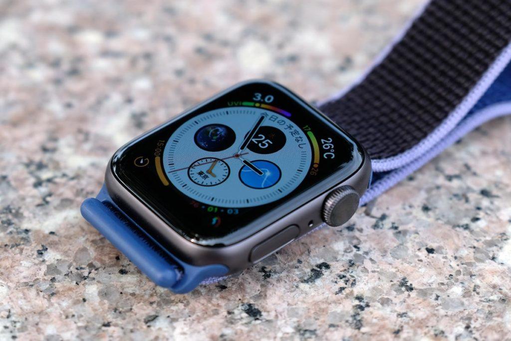 Apple Watch 5のデジタルクラウン