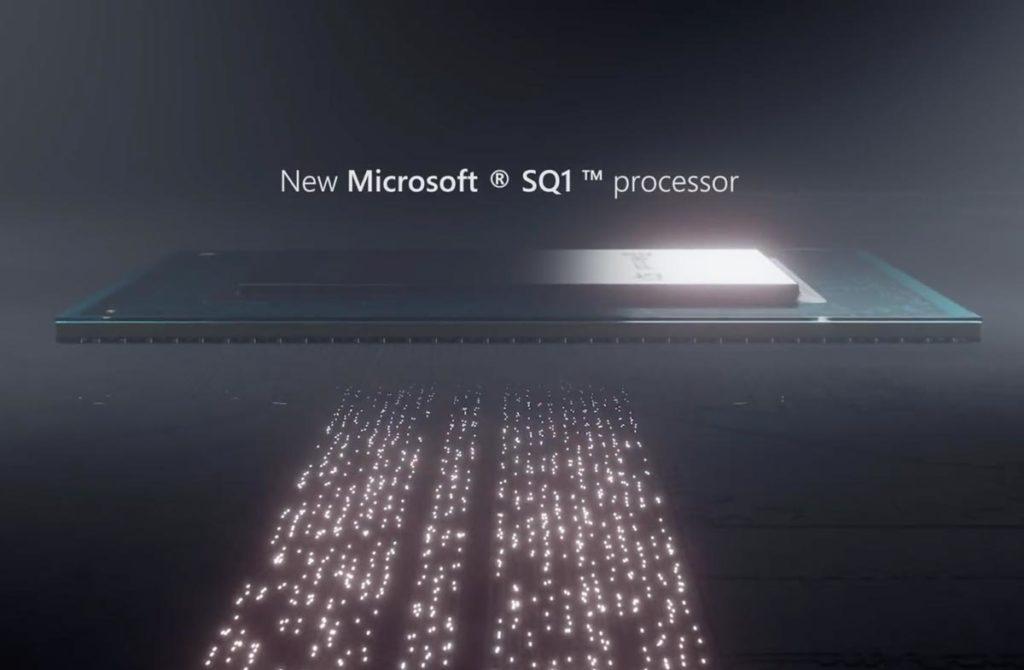 Microsoft SQ1プロセッサ