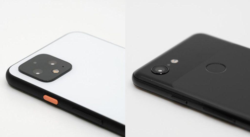 Pixel 4とPixel 3のリアカメラ比較