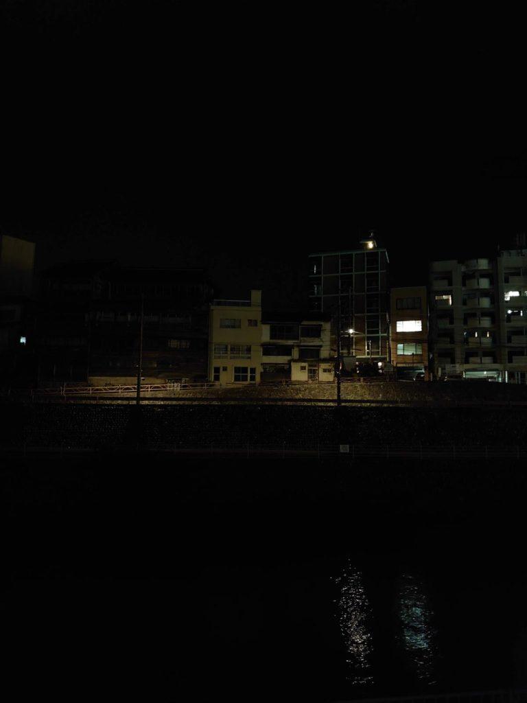 Xperia 5の夜景モード