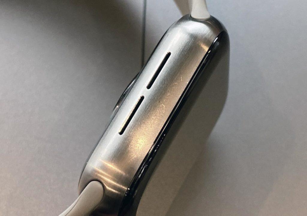 Apple Watch チタンに付いた傷