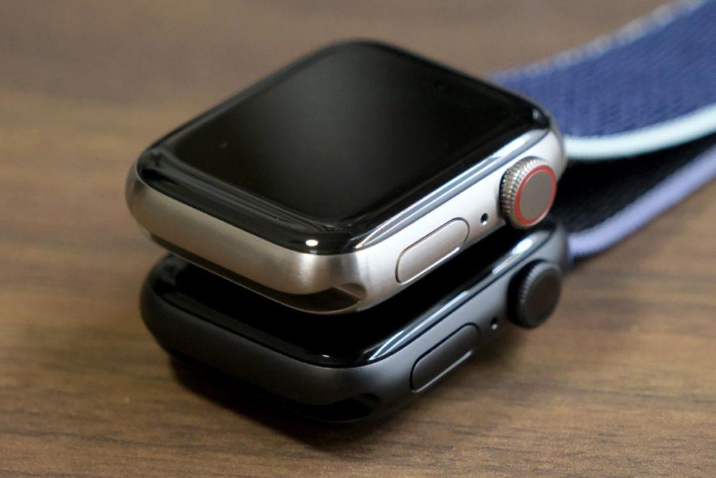 Apple Watch 5のセルラーモデルとGPSモデル