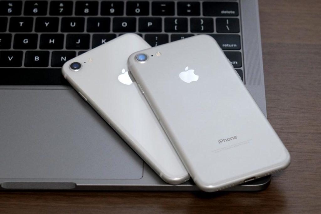 iPhone 8とiPhone 7