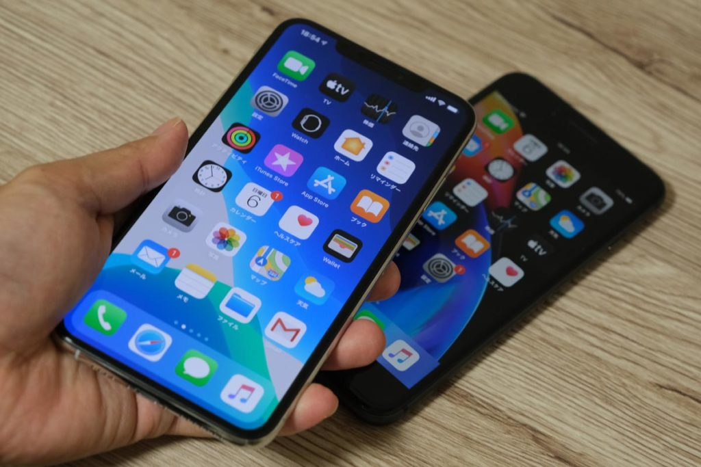 iPhone 11 Pro Maxの画面サイズ