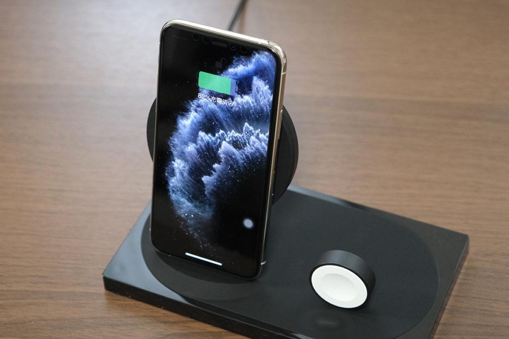 iPhoneをワイヤレスで充電