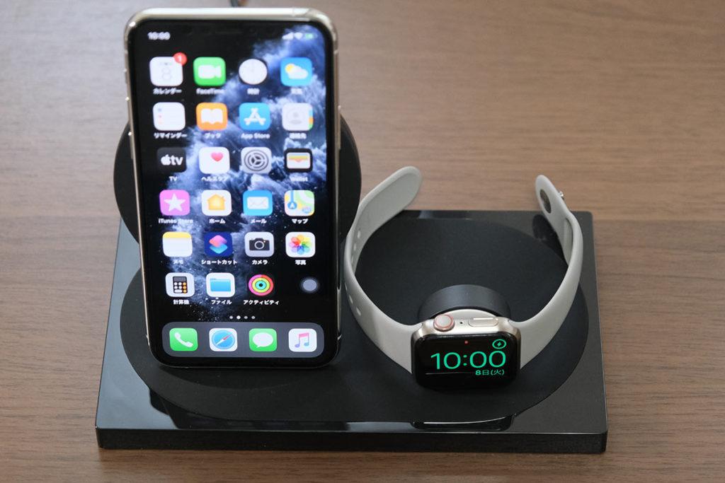 iPhoneとApple Watchを同時充電